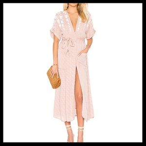 Free People Love To Love You Embroidered Dress